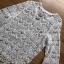Summer Style White Crochet Dress Lady Ribbon เดรสผ้าถักโครเชต์ thumbnail 5