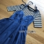 Lady Ribbon Anna Denim Dress ขายเดรสยีนส์ thumbnail 4
