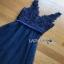 Tulle Cocktail Dress Lady Ribbon ค็อกเทลเดรสผ้าทูลเล thumbnail 8