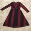 Lace Dress เดรสยาวลูกไม้นิ่มแดงดำ thumbnail 5