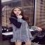 เสื้อผ้าแฟชั่นเกาหลีเสื้อกระโปรง เอี้ยมสายเดี่ยวใส่เข้าชุดกัน thumbnail 2