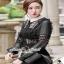 Girly Chiffon-Lace Blouse เสื้อทรงสวยลุคสาวผู้ดีแบบสาวยุโรป thumbnail 3