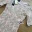 Lady Ribbon Online ขายส่งเสื้อผ้าออนไลน์ เลดี้ริบบอน LR16280716 &#x1F380 Lady Ribbon's Made &#x1F380 Lady Kate Elegant Chic Gold and Pink Lace Dress เดรสผ้าลูกไม้สี thumbnail 6