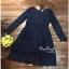 Sleeve Dress เดรสผ้าลูกไม้ตัวยาว thumbnail 4
