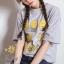 เสื้อผ้าแฟชั่นเกาหลีสวยๆmini dress ผ้ายืดเนื้อดี thumbnail 1
