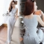 Lady Ribbon Online เสื้อผ้าแฟชั่นออนไลน์ขายส่ง เลดี้ริบบอนของแท้พร้อมส่ง sevy เสื้อผ้า SV13240716 BEST SELLER-Restock &#x1F389Sevy Two Pieces Of Casual Knit Vest With Pants Sets thumbnail 1