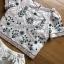 Lady Ribbon White Cotton Set ขายเซ็ตเสื้อคอตตอน thumbnail 5