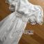 Lady Ribbon Online ขายส่งเสื้อผ้าออนไลน์ Lady Ribbon พร้อมส่ง LR08040816 &#x1F380 Lady Ribbon's Made &#x1F380 Lady Floral Embroidered and Laser-Cut Off-Shoulder Maxi Dress thumbnail 5