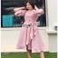Cotton Dress Lady Ribbon เดรสผ้าลายทาง thumbnail 4