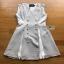 Cut-Out Dress Lady Ribbon ขายเดรสสีเทา thumbnail 7