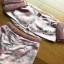 Lady Ribbon Pink Off-Shoulder Top and Shorts thumbnail 6