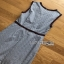 Rose Embroidered Checked Cotton Dress เดรสแขนกุด thumbnail 7