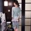 เสื้อผ้าเกรด A แฟชั่นสาวเกาหลีสีมิ้น thumbnail 5