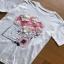White CHANEL T-Shirt Lady Ribbon ทีเชิ้ตสีขาว thumbnail 5