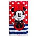 ผ้าเช็ดตัวลายMinnie Mouse Beach Towel - Personalizable[USA]