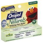 เจลบรรเทาอาการปวดฟันหรือเจ็บเหงือกBaby Orajel Naturals Gel for Teeth