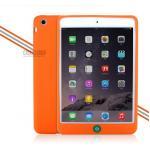 (สีส้ม) เคสซิลิโคนนิ่ม (เคส iPad mini 1/2/3)