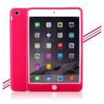 (สีชมพูเข้ม) เคสซิลิโคนนิ่ม (เคส iPad mini 1/2/3)