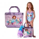 กระเป๋าใส่อุปกรณ์ว่ายน้ำ Sofia the First Swim Bag [USA]