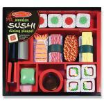 ชุดทำซูชิไม้ Wooden Sushi Slicing Play Set