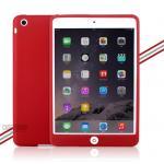 (สีแดง) เคสซิลิโคนนิ่ม (เคส iPad mini 1/2/3)
