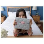 (สีเทา) Monroe'S Kiss series กระเป๋าใส่ iPad สไตล์เกาหลี
