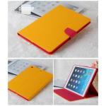 (สีเหลือง) Mercury ซิลิโคนหุ้มตัวเครื่อง (เคส iPad Air 1)