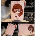 (ลายที่6) เคสการ์ตูน Cute Girl Dilian (เคส iPad Air 2)