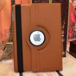 (สีน้ำตาล) เคสหนังผ้า หมุนได้ 360 องศา (เคส iPad Air 1)