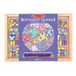 ร้อยลูกปัดชุดใหญ่ Wooden Bead Set - Butterfly Friends