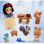 ตุ๊กตาอนิเมเตอร์เซท Disney Animators' Collection Snow White Mini Doll Play [Disney USA]