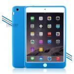 (สีฟ้า) เคสซิลิโคนนิ่ม (เคส iPad mini 1/2/3)
