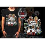 Size 3XL GTA V Mario T-Shirt