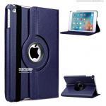(สีกรมท่า) เคสสีพื้นหมุนได้ 360 องศา (เคส iPad mini 4)