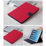 (สีชมพูเข้ม) Mercury ซิลิโคนหุ้มตัวเครื่อง (เคส iPad Air 1)