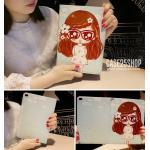 (ลายที่2) เคสการ์ตูน Cute Girl Dilian (เคส iPad Air 1)