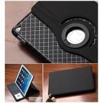 (สีดำ) เคสหมุนได้ 360 องศา ถอดชิ้นส่วนได้ (เคส iPad 2/3/4)
