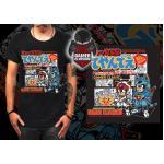 Size S Ninja Cat T-Shirt