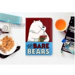 (ลายที่3) เคสการ์ตูน We BARE BEARS (เคส iPad mini 4)