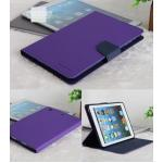 (สีม่วง) เคสเมอคิวรี่ ซิลิโคนหุ้มตัวเครื่อง (เคส iPad mini 1/2/3)