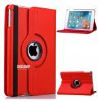 (สีแดง) เคสสีพื้นหมุนได้ 360 องศา (เคส iPad mini 4)
