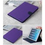 (สีม่วง) Mercury ซิลิโคนหุ้มตัวเครื่อง (เคส iPad Air 1)