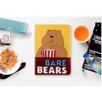 (ลายที่2) เคสการ์ตูน We BARE BEARS (เคส iPad Air 2)