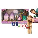 ชุดเซตเจ้าหญิง Rapunzel Mini Castle Play Set [Disney USA] ++พร้อมส่ง++
