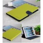 (สีเขียวตอง) เคสเมอคิวรี่ ซิลิโคนหุ้มตัวเครื่อง (เคส iPad mini 1/2/3)