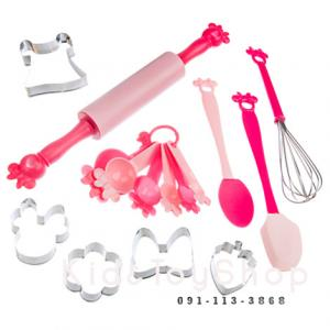 ชุดทำคุ๊กกี้ Minnie Mouse Baking Tool Set [Disney USA]