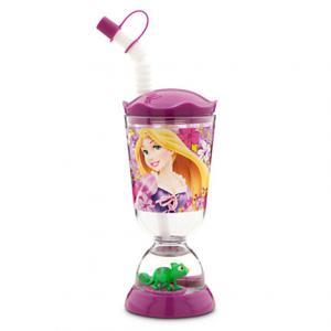 แก้วทรงโดม Rapunzel Snowglobe Tumbler with Straw [USA][n]