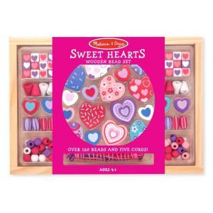 ร้อยลูกปัดชุดใหญ่ Wooden Bead Set - Sweet Heart