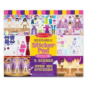 Melissa & Doug Dress-Up Reusable Sticker Pad++ พร้อมส่ง++