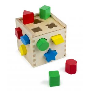 บล๊อคหยอดรูปทรง Shape Sorting Cube
